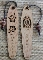 Albizia wood bookmarks
